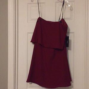 Strapless Lulu's dress